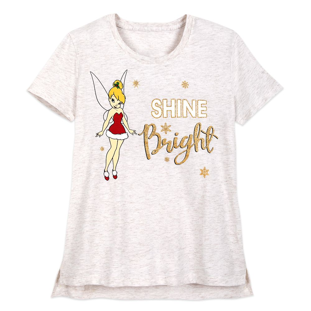 Tinker Bell Holiday T-Shirt for Women