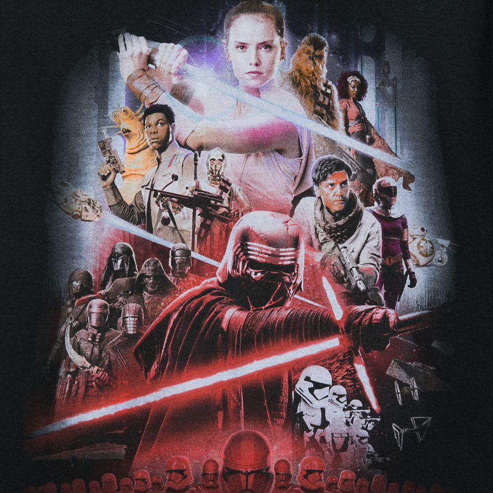 Star Wars The Rise Of Skywalker T Shirt For Adults Shopdisney