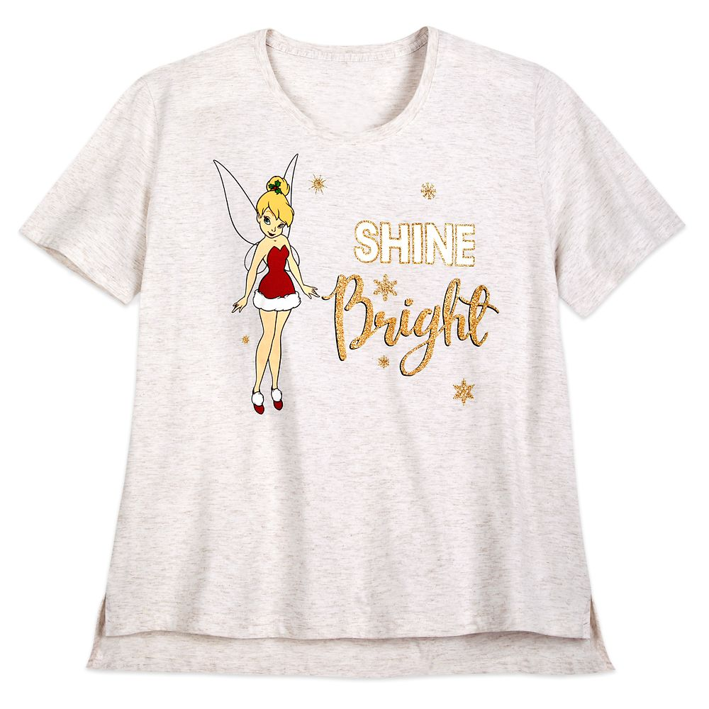 Tinker Bell Holiday T-Shirt for Women – Extended Size