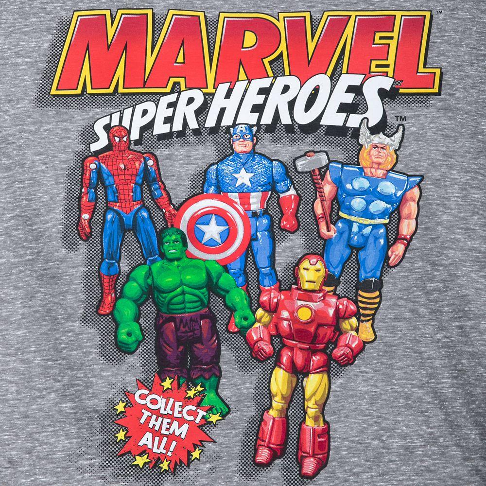 Marvel Super Heroes T-Shirt for Men – Extended Size