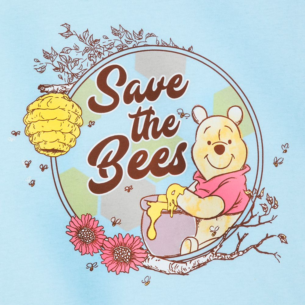 Winnie the Pooh ''Save the Bees'' T-Shirt for Women