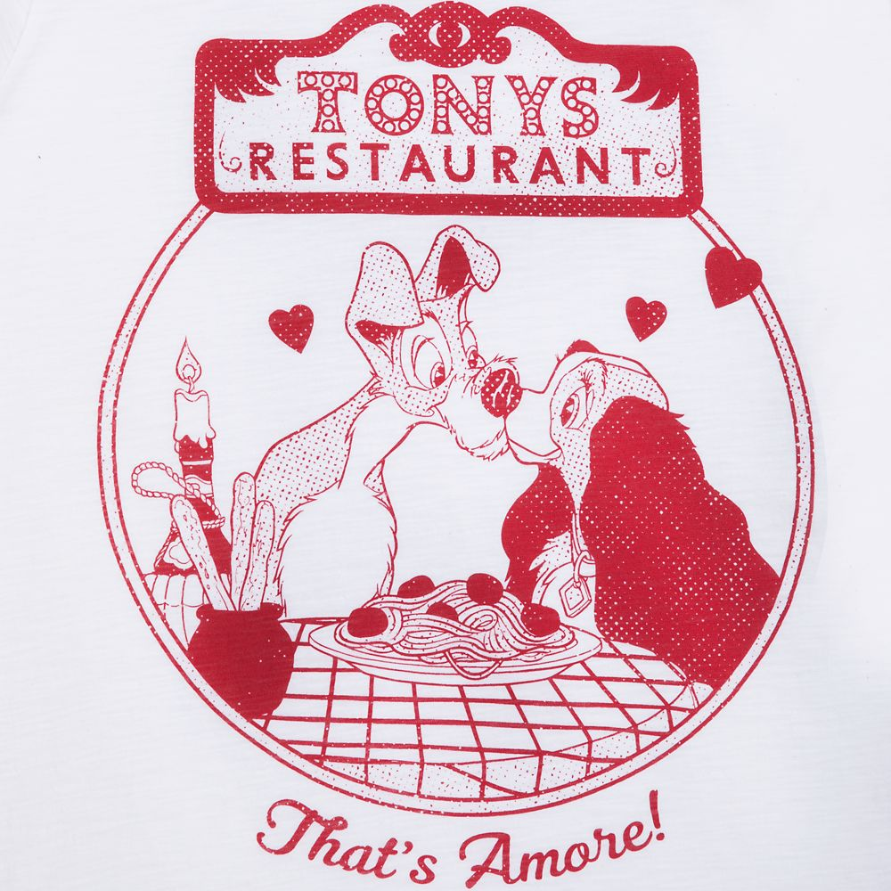 Tony's Restaurant Ringer T-Shirt for Women – Lady and the Tramp