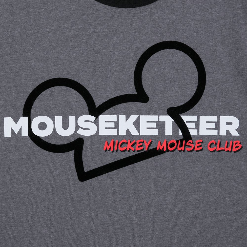 The Mickey Mouse Club Mouseketeer Ringer T-Shirt for Men