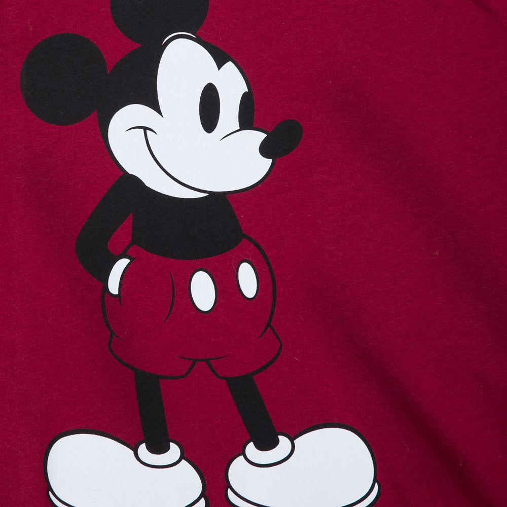 Mickey Mouse ''Charmer'' Ringer T-Shirt for Men
