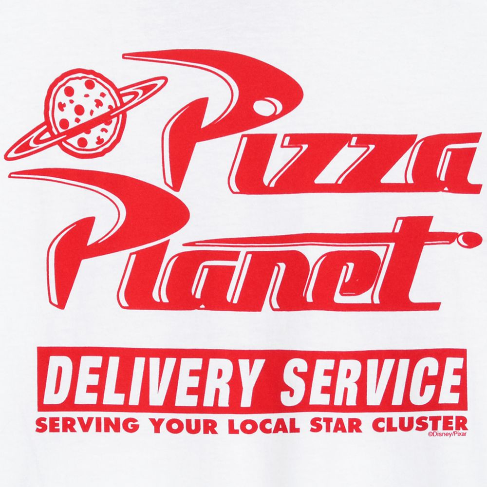 Pizza Planet Logo Ringer T-Shirt for Men – Toy Story