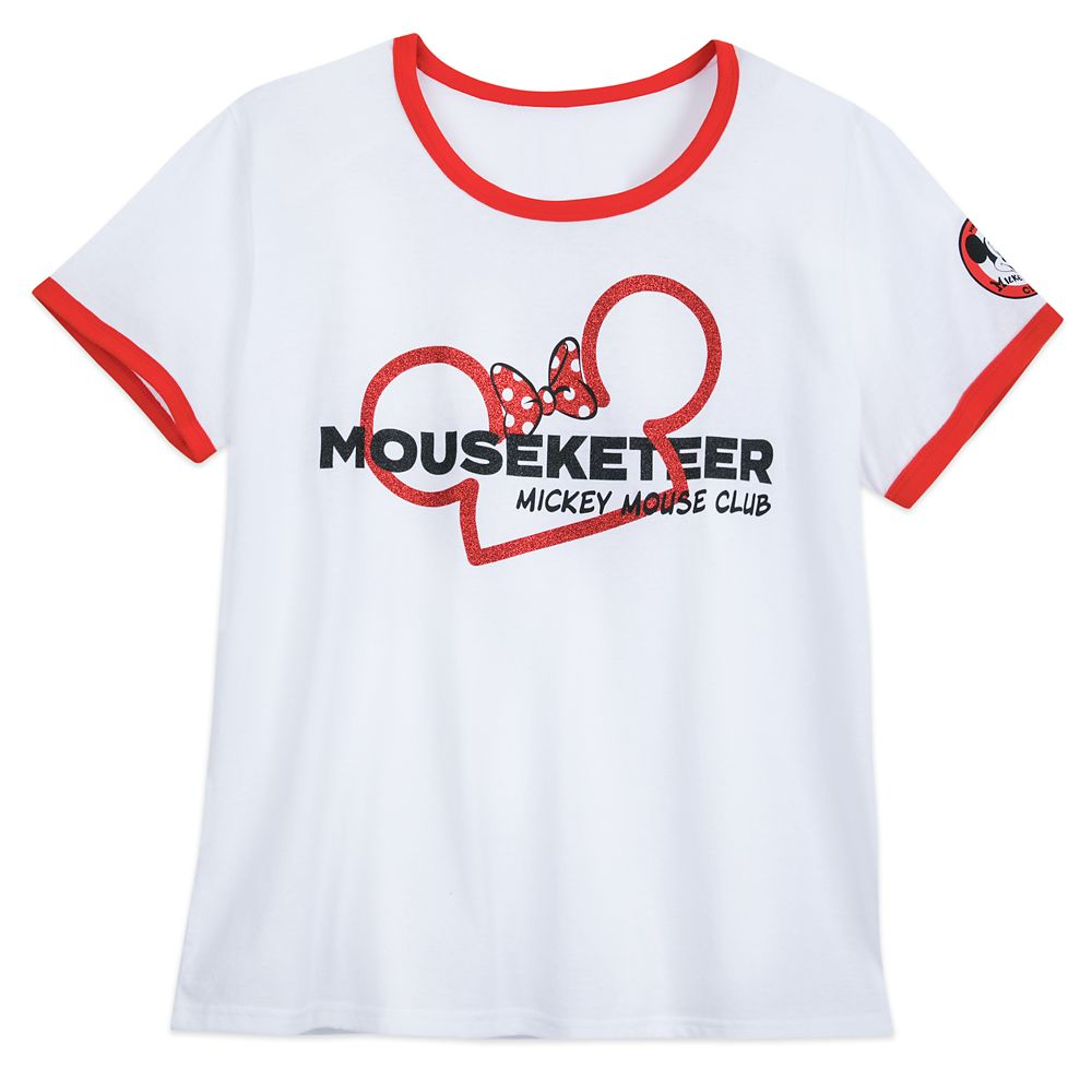 Minnie Mouse Mouseketeer Ringer T-Shirt for Women – Extended Size