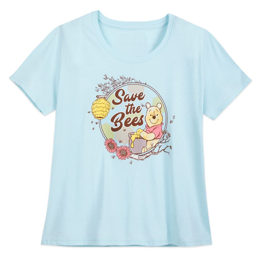 Winnie the Pooh ''Save the Bees'' T-Shirt for Women – Extended Size