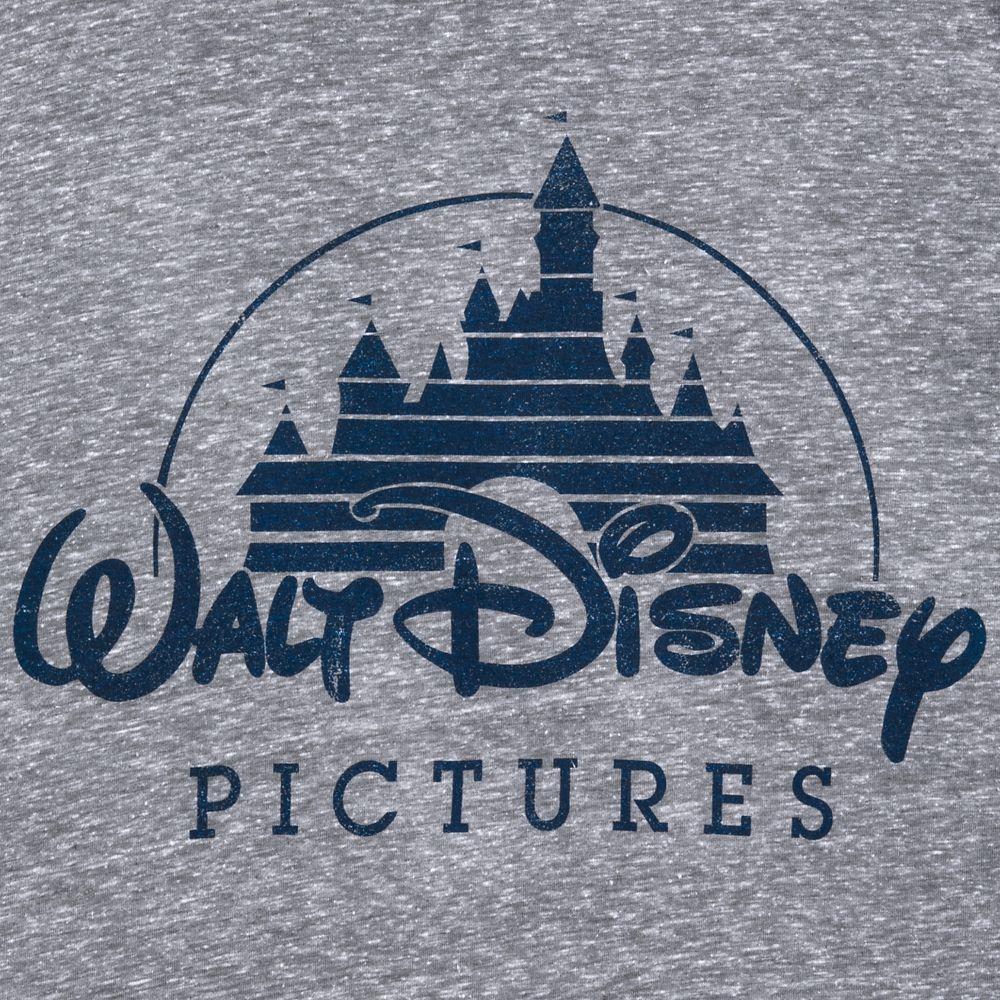 Walt Disney Pictures Logo T-Shirt for Men – Gray