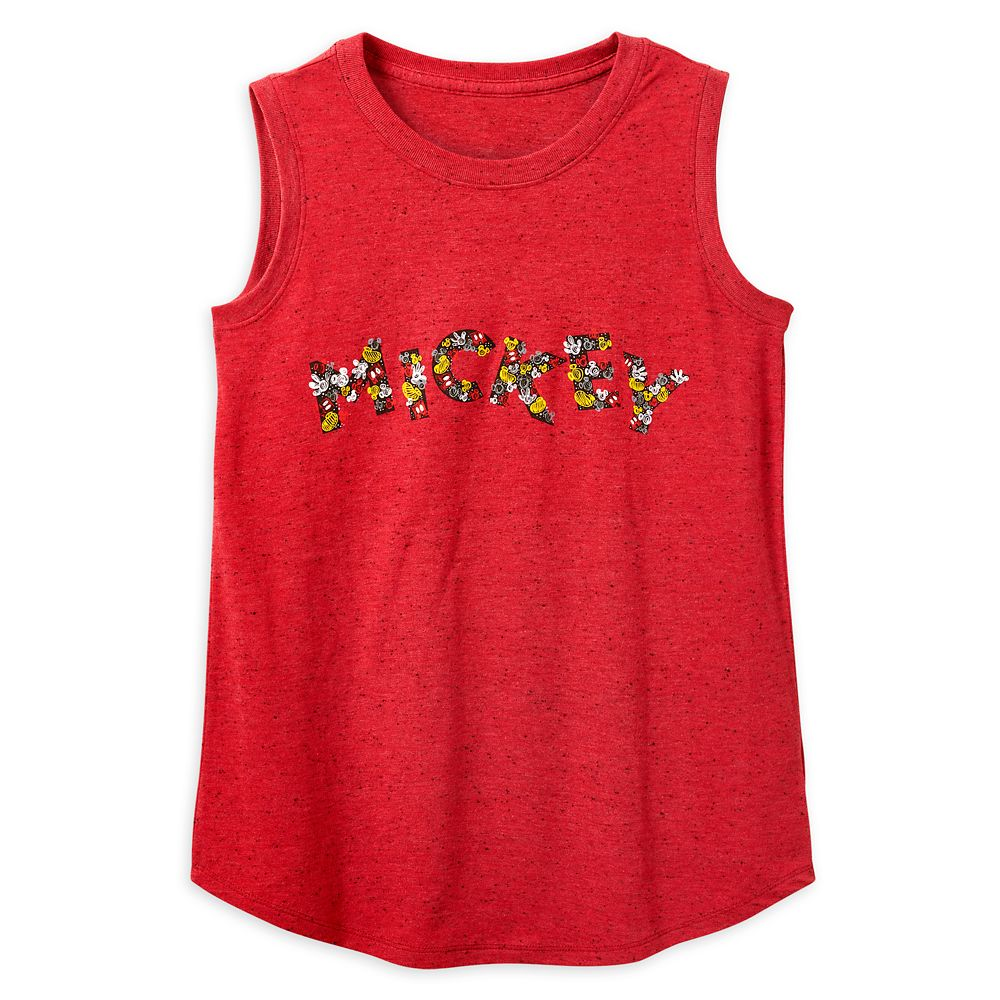 Mickey Mouse Speckled Tank Top for Women