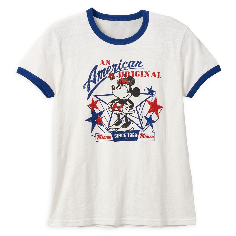 Minnie Mouse Americana T-Shirt for Women