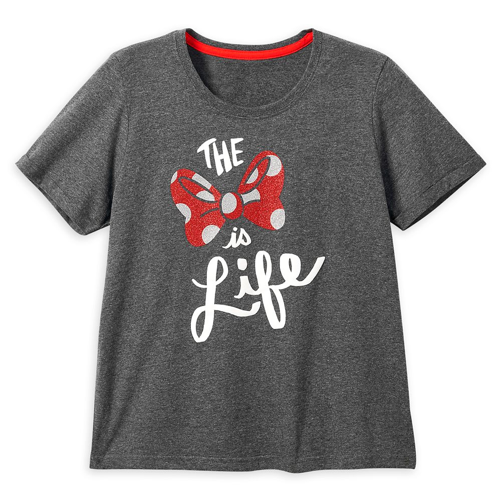 Minnie Mouse ''The Bow Is Life'' T-Shirt for Women