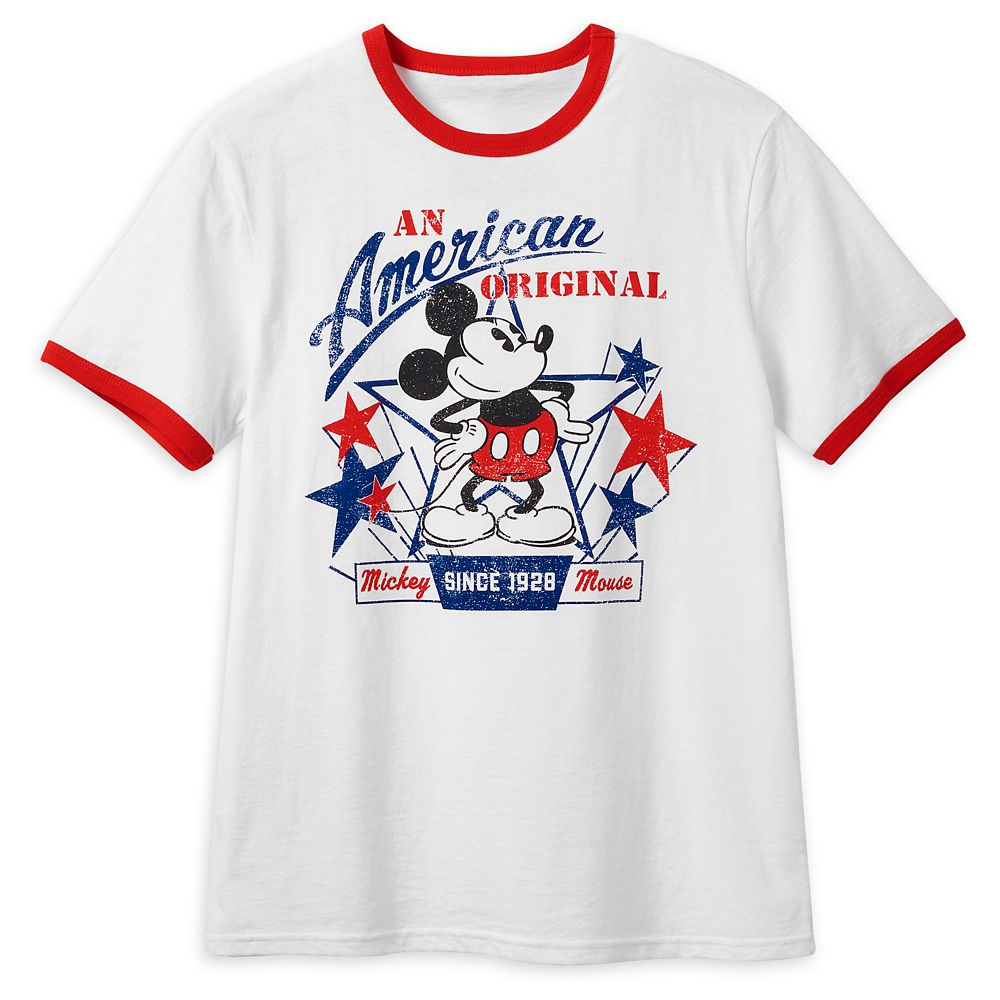 Mickey Mouse Americana T-Shirt for Men