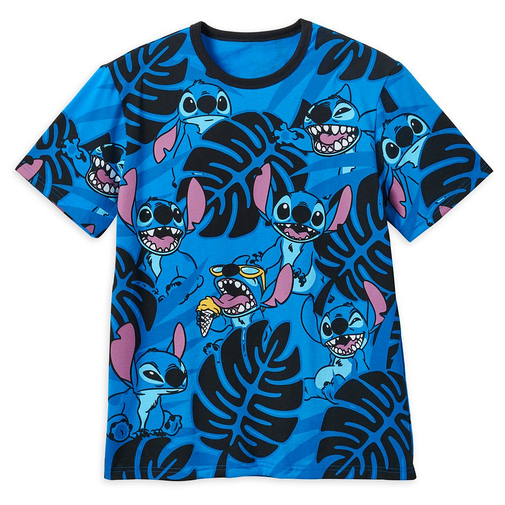 Stitch Allover Print T-Shirt for Men