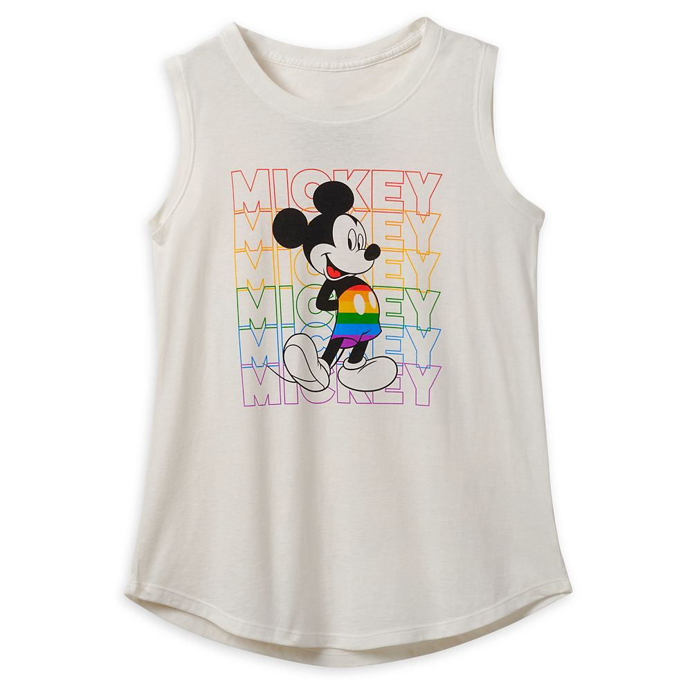 Rainbow Disney Collection Mickey Mouse Tank Top – Fashion Fit – 2020