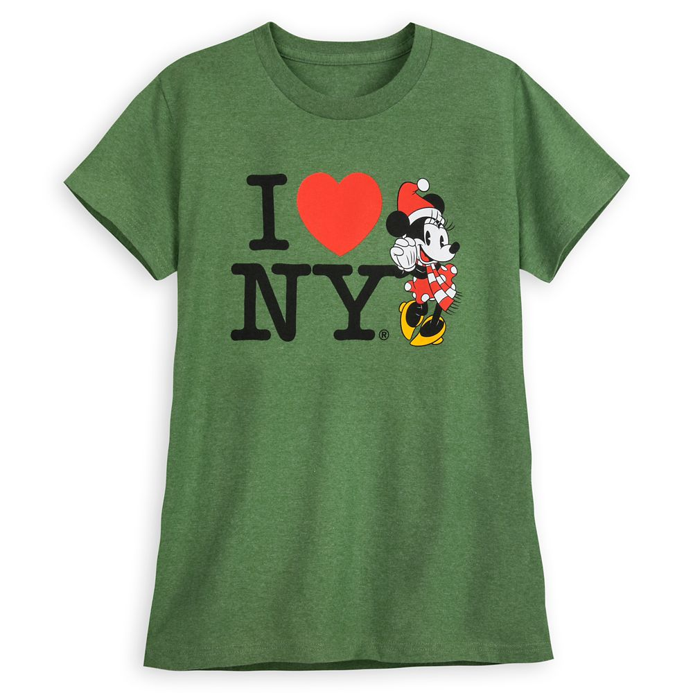 Minnie Mouse Holiday T-Shirt for Women – I ♥ NY