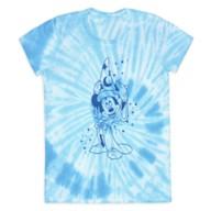 Sorcerer Mickey Mouse Tie-Dye T-Shirt for Women – Fantasia