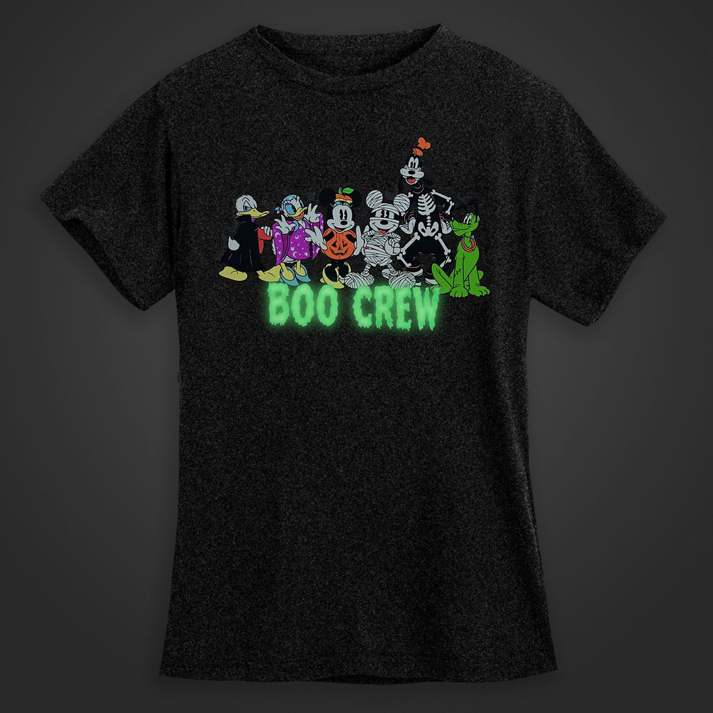 Mickey Mouse and Friends Halloween T-Shirt for Women