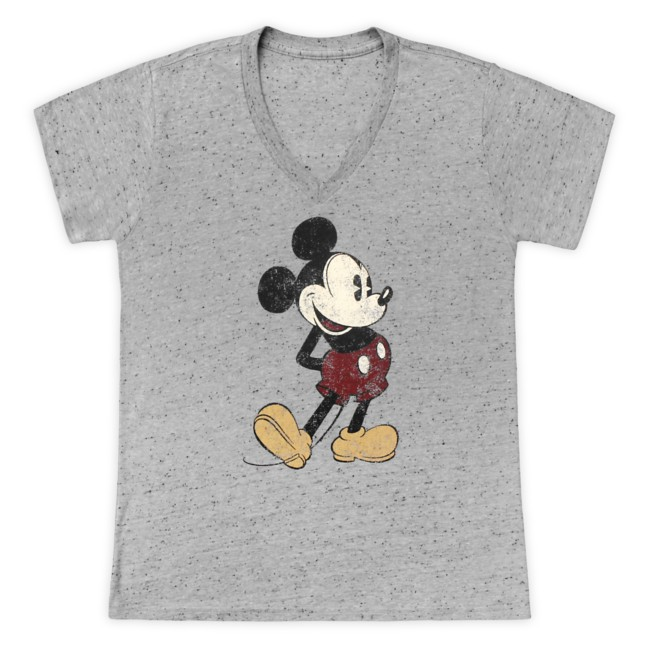 Mickey Mouse Classic T-Shirt for Women – Gray