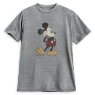 Mickey Mouse Classic T-Shirt for Adults – Gray