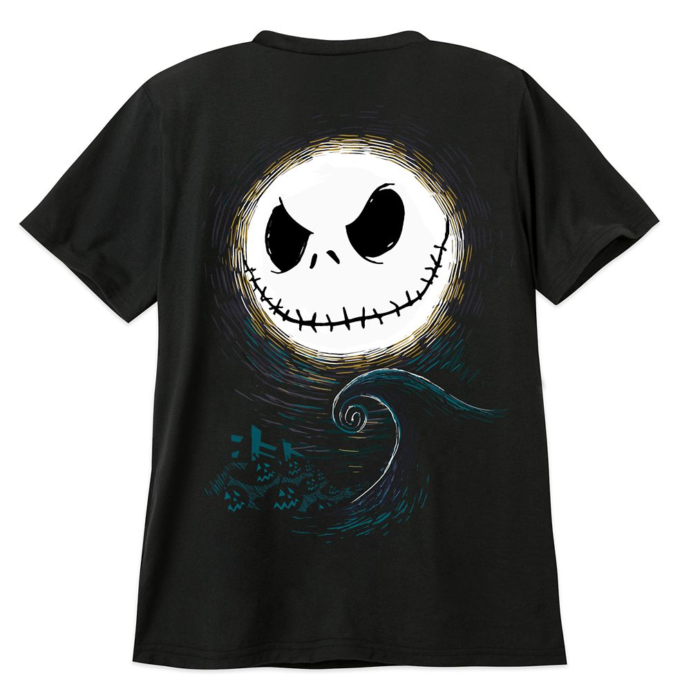 Jack Skellington Pocket T-Shirt for Adults – The Nightmare Before Christmas