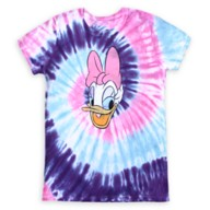 Daisy Duck Tie-Dye T-Shirt for Women