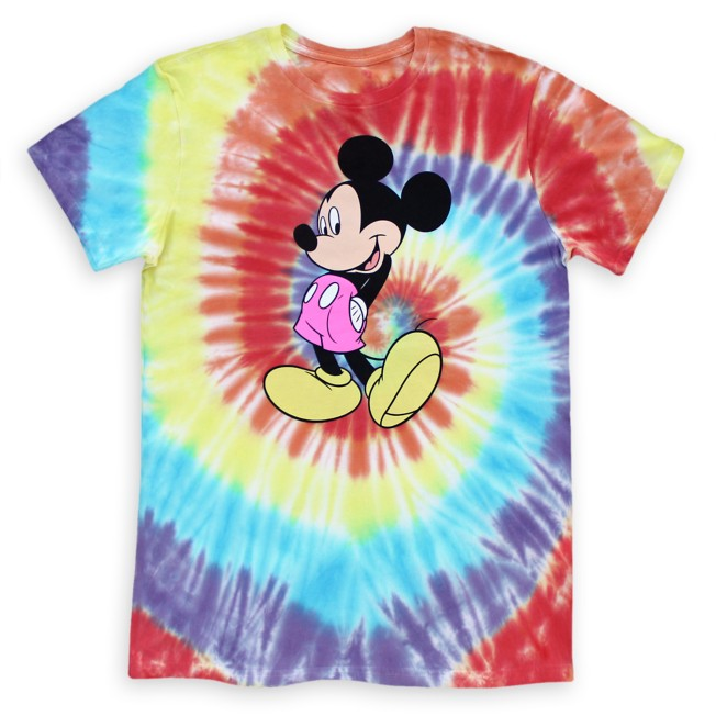 Mickey Mouse Tie-Dye T-Shirt for Adults