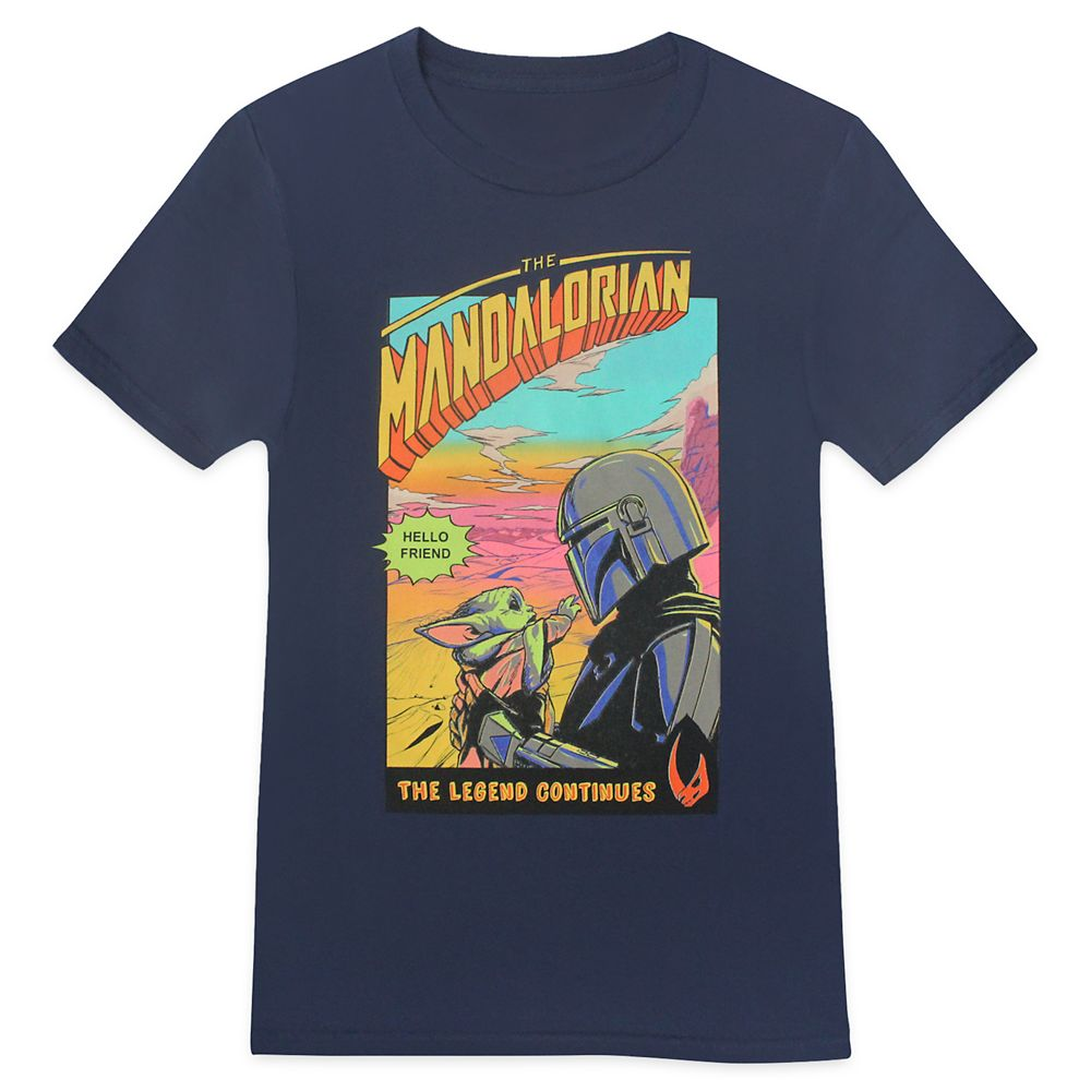 Star Wars: The Mandalorian Season 2 Comic Poster T-Shirt for Adults