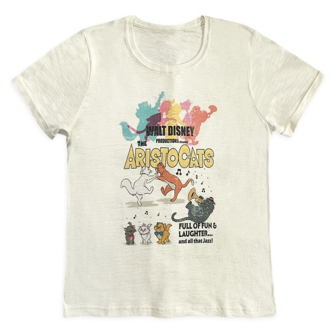 The Aristocats Movie Poster T-Shirt for Women