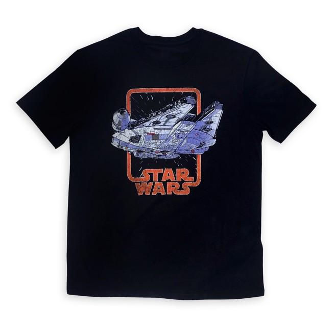 Millennium Falcon T-Shirt for Adults – Star Wars