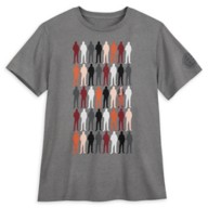 Loki Silhouettes T-Shirt for Adults