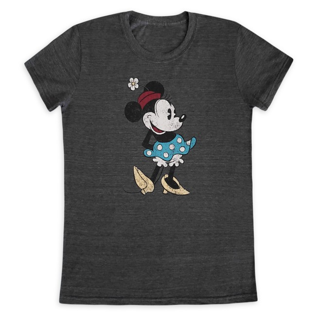 Minnie Mouse Classic T-Shirt for Women – Dark Gray