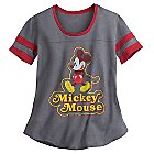 Mickey Mouse Athletic Fashion Tee for Juniors