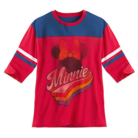 Minnie Mouse Athletic Fashion Tee for Juniors