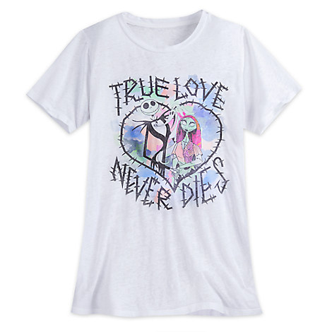 Jack Skellington and Sally Fashion Tee for Juniors