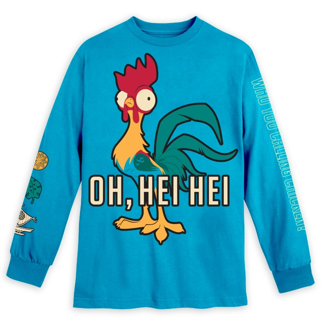 Hei Hei Long Sleeve T-Shirt for Adults – Moana