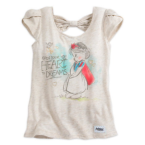Snow White Fashion Tank Tee for Juniors - Disney Animators' Collection
