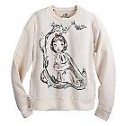 Art of Snow White Fleece Top for Women