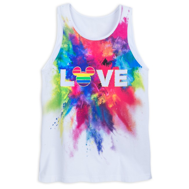 Rainbow Mickey Collection Tank Top for Adults