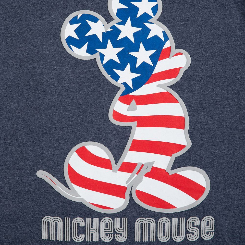 Mickey Mouse Americana T-Shirt for Adults