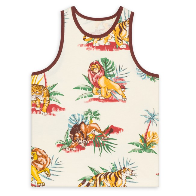 Disney Lions and Tigers Tank Top for Adults