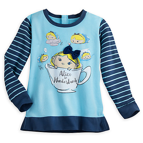 Alice in Wonderland ''Tsum Tsum'' Fashion Pullover for Women
