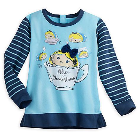 Alice in Wonderland ''Tsum Tsum'' Fashion Pullover for Juniors