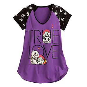 Nightmare Before Christmas Tsum Tsum Raglan Tee for Women