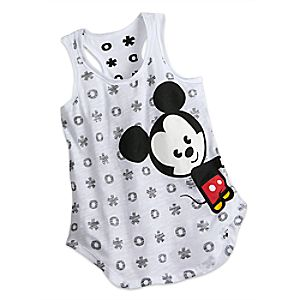 Mickey & Minnie Mouse MXYZ Tank Tee for Juniors