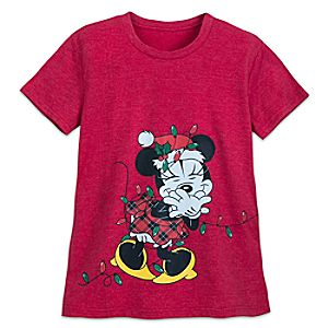 b6e82a2b Edna Mode Nightshirt for Women – Incredibles 2. Price: $19.95. Santa Minnie  Mouse Holiday Lights T-Shirt for Women Price: $22.95