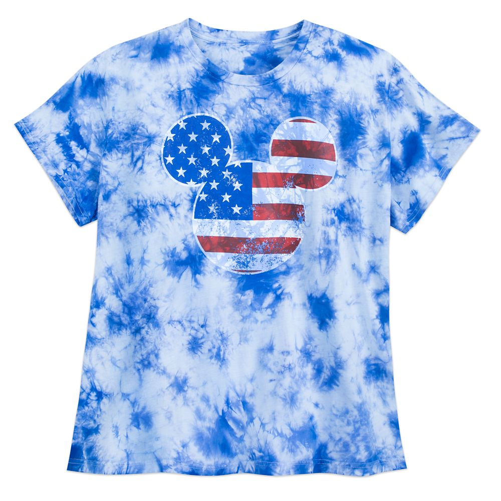 Mickey Mouse Americana T-Shirt for Women – Extended Size