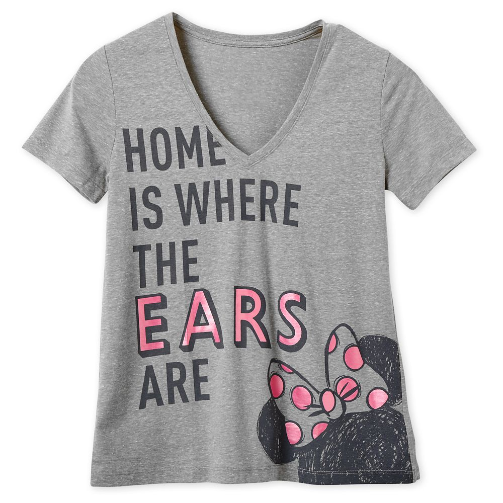 Minnie Mouse ''Home is Where the Ears Are'' T-Shirt for Women