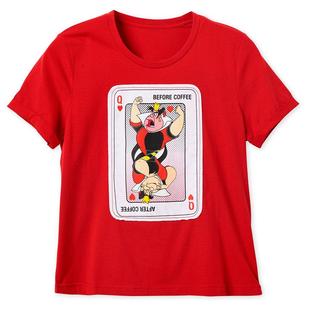 Queen of Hearts T-Shirt for Women  Alice in Wonderland Official shopDisney