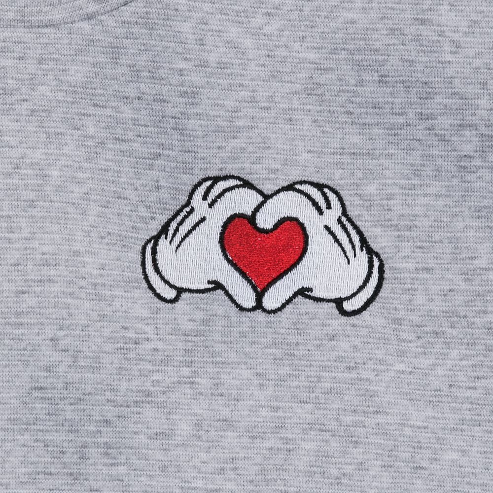 Mickey Mouse Heart Hands T-Shirt for Women