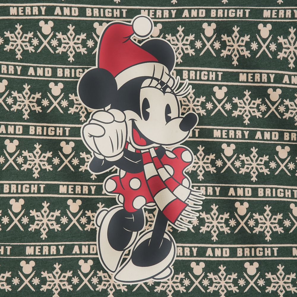 Minnie Mouse Holiday Cheer T-Shirt for Women